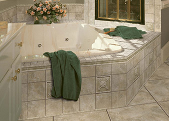 Discount Carpet & More specializes in tilebathtub surrounds.  Call today to learn more!